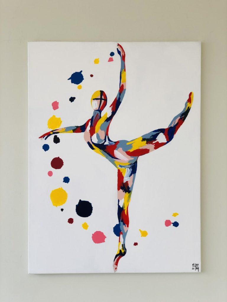 Dance & Come Back - 76cm x 102 cm