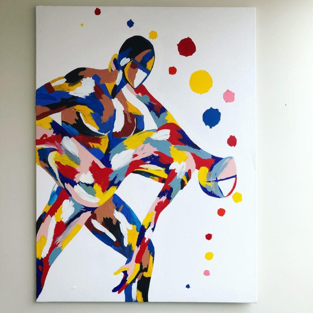 Dance - 76cm x 10 cm - SOLD